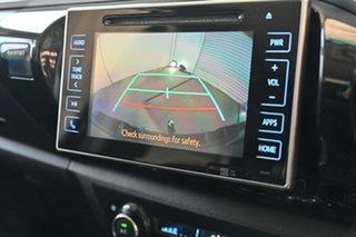 2016 Toyota Hilux GUN126R SR5 Double Cab Black 6 Speed Automatic Utility