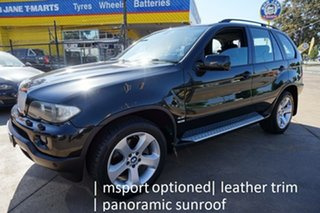 2006 BMW X5 E53 MY06 Steptronic Black Sapphire 6 Speed Sports Automatic Wagon.