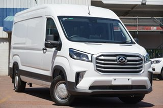 2020 LDV Deliver 9 MY21 Mid Roof LWB Blanc White 6 Speed Automatic Van.