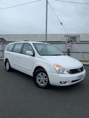 2012 Kia Grand Carnival VQ MY13 SI White 6 Speed Sports Automatic Wagon.