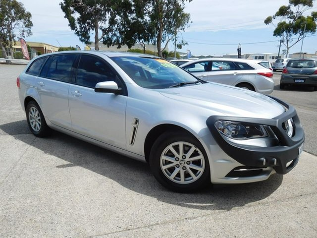 Used Holden Commodore VF II MY16 Evoke Sportwagon Wangara, 2016 Holden Commodore VF II MY16 Evoke Sportwagon Silver 6 Speed Sports Automatic Wagon