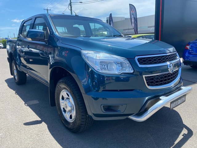 Used Holden Colorado RG MY15 LS Crew Cab Cardiff, 2015 Holden Colorado RG MY15 LS Crew Cab Blue 6 Speed Sports Automatic Utility