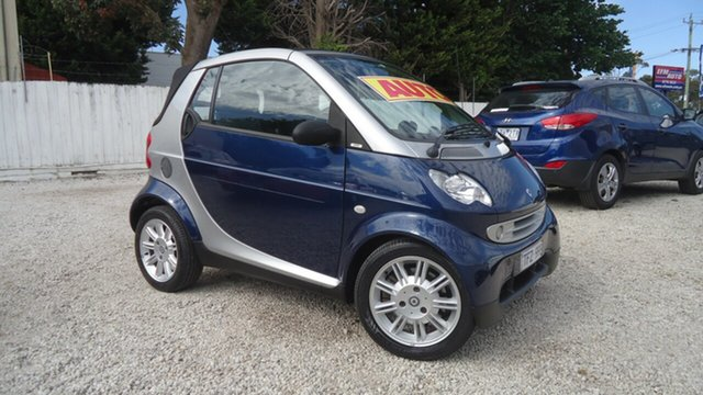 Used Smart ForTwo A450 Pulse Seaford, 2004 Smart ForTwo A450 Pulse Grey 6 Speed Sports Automatic Cabriolet
