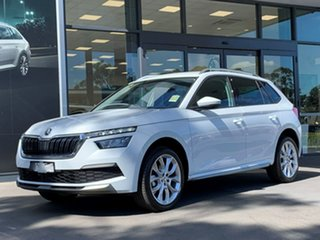 2020 Skoda Kamiq NW MY20.5 85TSI DSG FWD White 7 Speed Sports Automatic Dual Clutch Wagon.