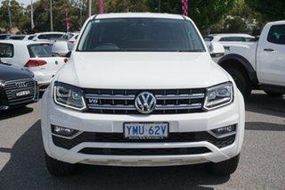 2018 Volkswagen Amarok 2H MY18 TDI550 4MOTION Perm Highline Candy White 8 Speed Automatic Utility.
