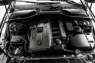 2006 BMW 5 Series E60 525i Steptronic Blue 6 Speed Sports Automatic Sedan