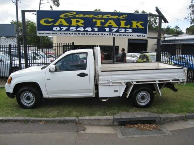 Used Holden Colorado RC MY10 LX (4x2) Nambour, 2010 Holden Colorado RC MY10 LX (4x2) White 5 Speed Manual Cab Chassis