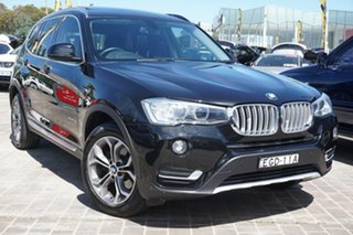 2015 BMW X3 F25 LCI xDrive20d Steptronic Black 8 Speed Automatic Wagon.