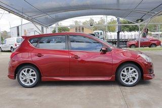 2015 Nissan Pulsar C12 Series 2 SSS Cayenne Red 6 Speed Manual Hatchback.
