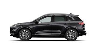 2020 Ford Escape ZH 2020.75MY Vignale AWD Agate Black 8 Speed Sports Automatic SUV.