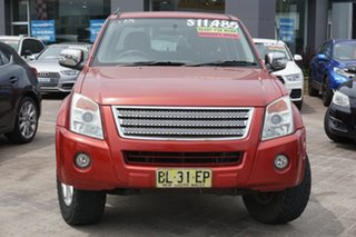 2007 Holden Rodeo RA MY07 LX Crew Cab 4x2 Red 5 Speed Manual Utility.
