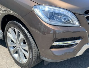 2014 Mercedes-Benz M-Class W166 ML350 BlueTEC 7G-Tronic + Brown 7 Speed Sports Automatic Wagon