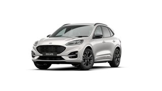 2020 Ford Escape ZH 2021.25MY ST-Line White Platinum 8 Speed Sports Automatic SUV.