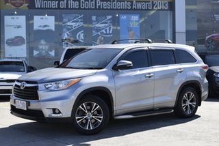 2015 Toyota Kluger GSU50R GXL 2WD Billet Silver 6 Speed Sports Automatic Wagon.
