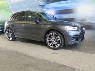 2018 Audi SQ5 FY MY18 3.0 TFSI Quattro Abarth Grey 8 Speed Automatic Tiptronic Wagon.