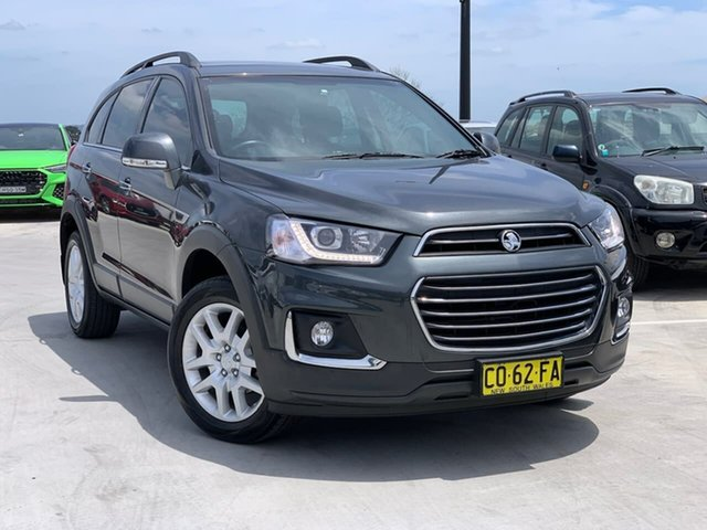 Used Holden Captiva CG MY17 Active 2WD Liverpool, 2017 Holden Captiva CG MY17 Active 2WD Grey 6 Speed Sports Automatic Wagon