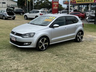 2010 Volkswagen Polo 6R 66TDI DSG Comfortline Silver 7 Speed Sports Automatic Dual Clutch Hatchback.