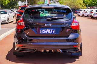 2013 Ford Focus LW MkII ST Black 6 Speed Manual Hatchback.