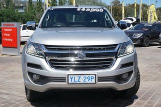 2017 Holden Colorado RG MY17 LTZ Pickup Crew Cab Silver 6 Speed Sports Automatic Utility.