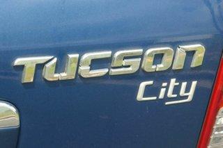 2006 Hyundai Tucson JM City Blue 4 Speed Sports Automatic Wagon