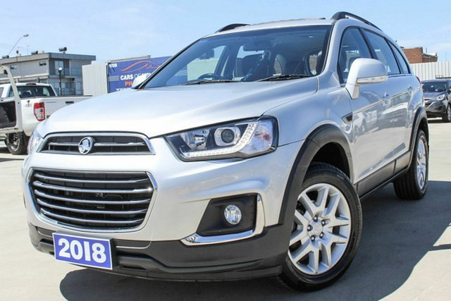 Used Holden Captiva CG MY18 Active 2WD Coburg North, 2018 Holden Captiva CG MY18 Active 2WD Silver 6 Speed Sports Automatic Wagon