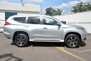 2016 Mitsubishi Pajero Sport QE MY16 GLX Silver 8 Speed Sports Automatic Wagon.