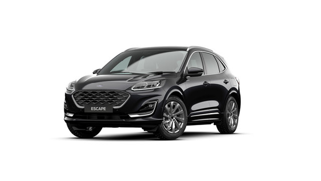 New Ford Escape ZH 2021.25MY Vignale AWD Newstead, 2020 Ford Escape ZH 2021.25MY Vignale AWD Agate Black 8 Speed Sports Automatic SUV