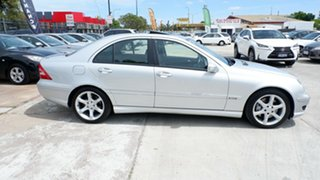 2007 Mercedes-Benz C-Class W203 MY07 C180 Kompressor Super Sport Silver 5 Speed Automatic Sedan