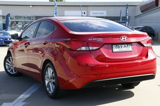2014 Hyundai Elantra MD Series 2 (MD3) Trophy Red 6 Speed Automatic Sedan.