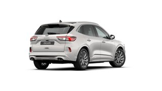 2020 Ford Escape ZH 2021.25MY Vignale Frozen White 8 Speed Sports Automatic SUV
