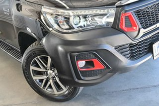2016 Toyota Hilux GUN126R SR5 Double Cab Black 6 Speed Automatic Utility.
