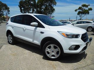 2017 Ford Escape ZG Ambiente White 6 Speed Sports Automatic SUV.