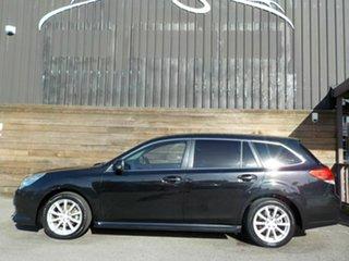 2010 Subaru Liberty B5 MY11 2.5i Lineartronic AWD Black 6 Speed Constant Variable Wagon