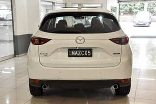 2020 Mazda CX-5 KF4WLA 100th Anniversary SKYACTIV-Drive i-ACTIV AWD White 6 Speed Sports Automatic.