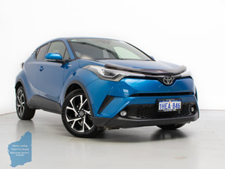 2017 Toyota C-HR NGX10R Koba (2WD) Blue Continuous Variable Wagon.