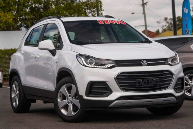 Used Holden Trax TJ MY19 LS Mount Gravatt, 2019 Holden Trax TJ MY19 LS White 6 Speed Automatic Wagon