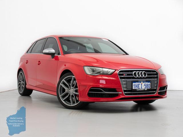Used Audi S3 8V MY14 2.0 TFSI Quattro, 2014 Audi S3 8V MY14 2.0 TFSI Quattro Red 6 Speed Direct Shift Hatchback