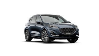 2020 Ford Escape ZH 2020.75MY Vignale AWD Blue Panther 8 Speed Sports Automatic SUV