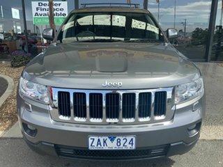2012 Jeep Grand Cherokee WK Laredo (4x4) Grey 5 Speed Automatic Wagon.