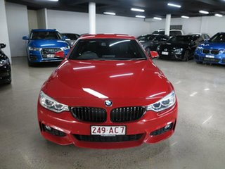 2015 BMW 4 Series F32 420i M Sport Red 8 Speed Sports Automatic Coupe.
