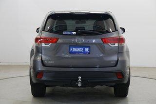 2017 Toyota Kluger GSU55R GXL AWD Grey 8 Speed Sports Automatic Wagon