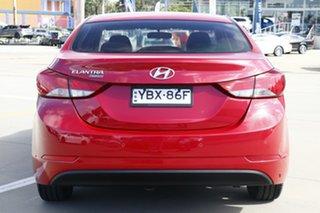 2014 Hyundai Elantra MD Series 2 (MD3) Trophy Red 6 Speed Automatic Sedan