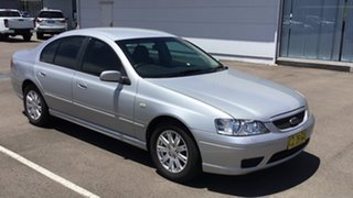2006 Ford Falcon BF Mk II Futura Silver 4 Speed Sports Automatic Sedan.