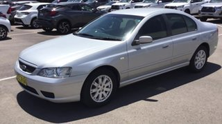 2006 Ford Falcon BF Mk II Futura Silver 4 Speed Sports Automatic Sedan