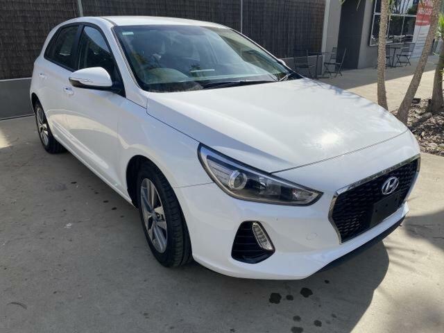 Used Hyundai i30 PD2 MY20 Active Wangaratta, 2019 Hyundai i30 PD2 MY20 Active White 6 Speed Automatic Hatchback