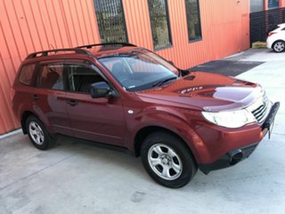 2008 Subaru Forester S3 MY09 X AWD Red 5 Speed Manual Wagon