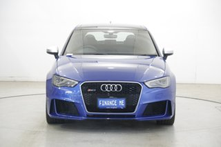 2015 Audi RS 3 8V MY16 Sportback S Tronic Quattro Blue 7 Speed Sports Automatic Dual Clutch.