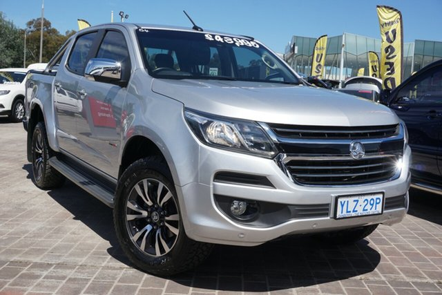 Used Holden Colorado RG MY17 LTZ Pickup Crew Cab Phillip, 2017 Holden Colorado RG MY17 LTZ Pickup Crew Cab Silver 6 Speed Sports Automatic Utility