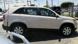 2010 Kia Sorento XM MY10 SI Cream 6 Speed Sports Automatic Wagon.