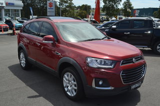2016 Holden Captiva CG MY16 Active 2WD Red 6 Speed Sports Automatic Wagon.